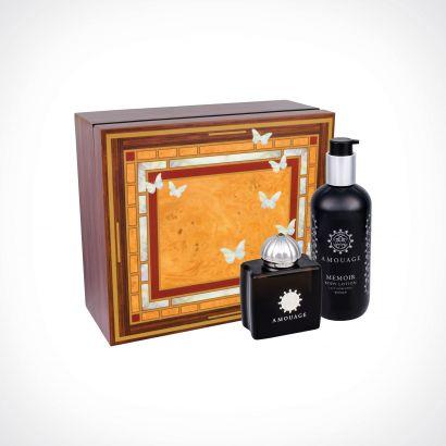 Amouage Memoir Woman EDP + Body Lotion | dovanų rinkinys | 100 ml + 300 ml | Crème de la Crème