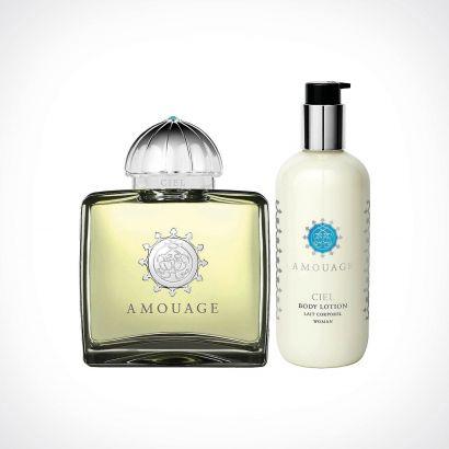 Amouage Ciel Woman EDP + Body Lotion | dovanų rinkinys | 100 ml + 300 ml | Crème de la Crème