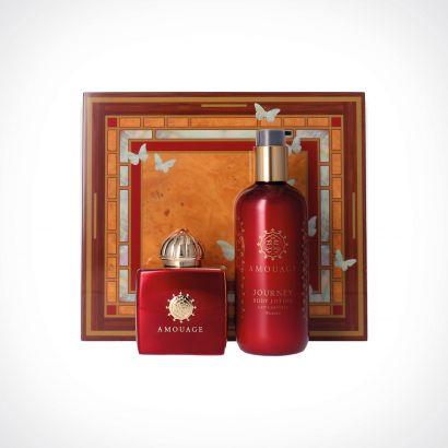 Amouage Journey Woman EDP + Body Lotion | dovanų rinkinys | 100 + 300 ml | Crème de la Crème
