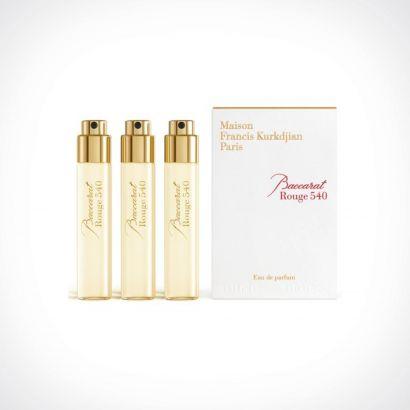 Maison Francis Kurkdjian Baccarat Rouge 540 Refills | kelioninis rinkinys | 3 x 11 ml | Crème de la Crème