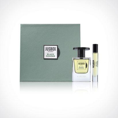 Jusbox Perfumes Black Powder Limited Edition | kvapusis vanduo (EDP) | 78 ml + 7,8 ml | Crème de la Crème
