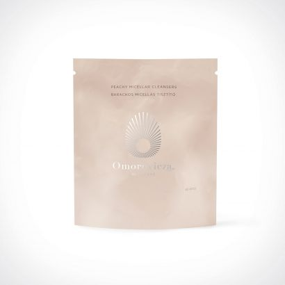 Omorovicza Peachy Micellar Cleansers Refill pack | 60 discs | Crème de la Crème