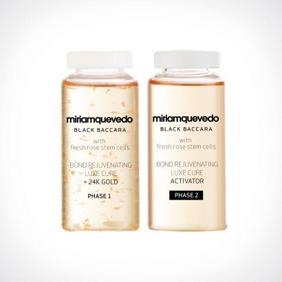 Miriam Quevedo Black Baccara Hair Bond Rejuvenating Luxe Cure With 24K Gold | specialios priemonės plaukams | 4 x 20 ml | Crème de la Crème