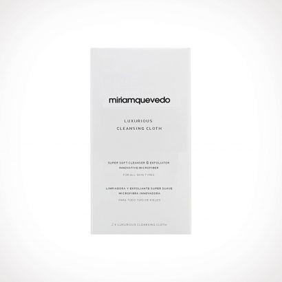 Miriam Quevedo Luxurious Cleansing Cloth | veido prausiklis | 2 vnt | Crème de la Crème