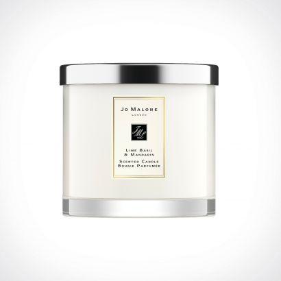 Jo Malone London Lime Basil & Mandarin Deluxe Scented Candle | kvapioji žvakė | 600 g | Crème de la Crème