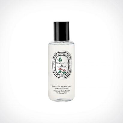 diptyque Citronnelle & Géranium Mosquito Repellent Summer Body Spray | 100 ml | Crème de la Crème