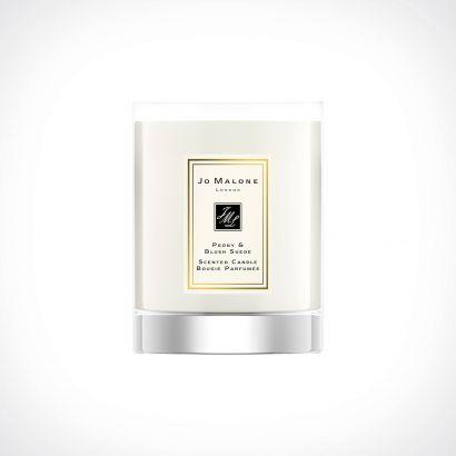 Jo Malone London Peony & Blush Suede Travel Candle | kvapioji žvakė | 60 g | Crème de la Crème