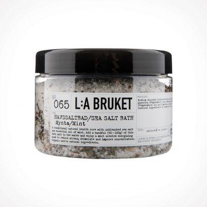 L:a Bruket 065 Mint Sea Salt Bath | 450 g | Crème de la Crème
