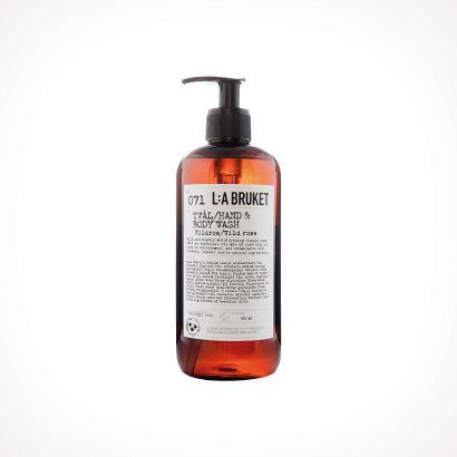 L:a Bruket 071 Wild Rose Hand & Body Wash | kūno ir rankų prausiklis | 450 ml | Crème de la Crème