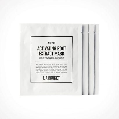 L:a Bruket 206 Activating Root Extract Mask | 4 x 24 ml | Crème de la Crème