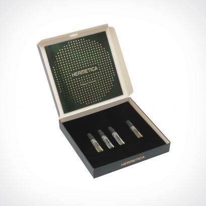Hermetica Green Discovery Set | dovanų rinkinys | 4 x 1,5 ml | Crème de la Crème