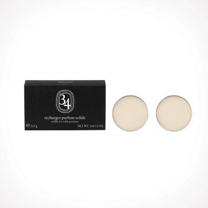 diptyque 34 Boulevard Saint Germain Solid Perfume Refill | kietieji kvepalai | 2 x 3 g | Crème de la Crème