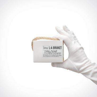 L:a Bruket 009 Lemongrass Rope Soap | muilas | 240 g | Crème de la Crème