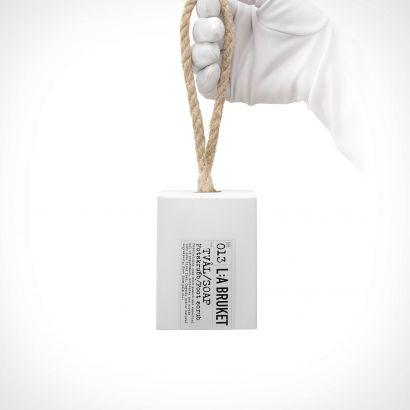 L:a Bruket 013 Peppermint Rope Soap Foot Scrub | kūno šveitiklis | 240 g | Crème de la Crème