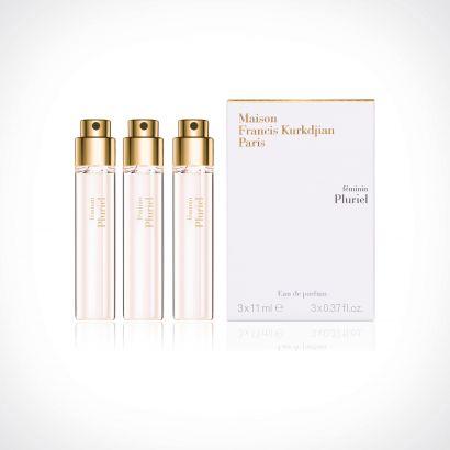 Maison Francis Kurkdjian Feminin Pluriel Refills | kelioninis rinkinys | 3 x 11 ml | Crème de la Crème
