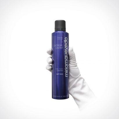 Miriam Quevedo Extreme Caviar Final Touch Hairspray - Soft Hold | plaukų lakas | 300 ml | Crème de la Crème