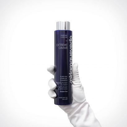 Miriam Quevedo Extreme Caviar Purifying Charcoal Shampoo | plaukų šampūnas | 250 ml | Crème de la Crème