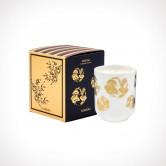 Floraïku Mimosa Candle Tea Cup 2 | kvapioji žvakė | 130 g | Crème de la Crème