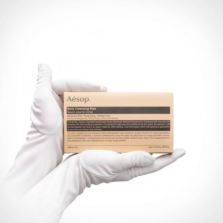 Aesop Body Cleansing Slab | muilas | 310 g | Crème de la Crème