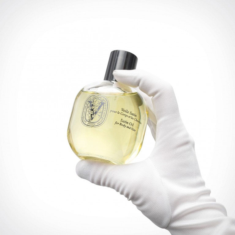 diptyque Satin Oil For Body And Hair 2 | plaukų ir kūno aliejus | 100 ml | Crème de la Crème