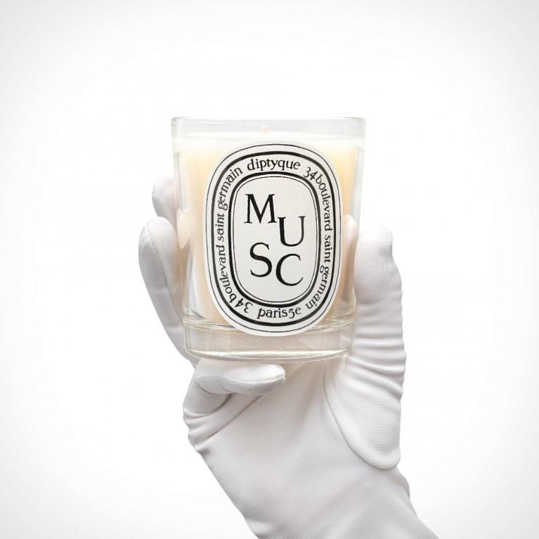 diptyque Musc Candle 2 | kvapioji žvakė | 190 g | Crème de la Crème