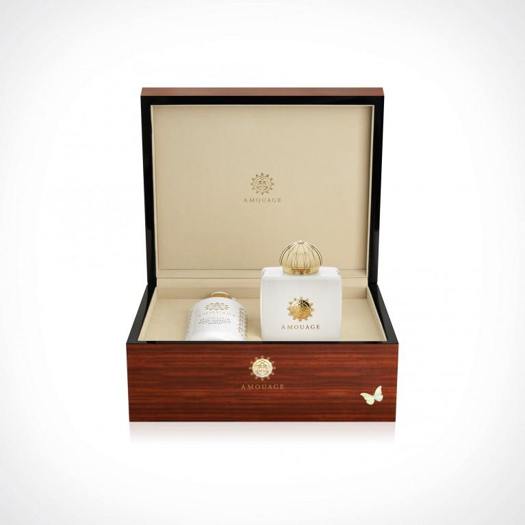 Amouage Honour Woman EDP + Body Lotion | dovanų rinkinys | 100 + 300 ml | Crème de la Crème