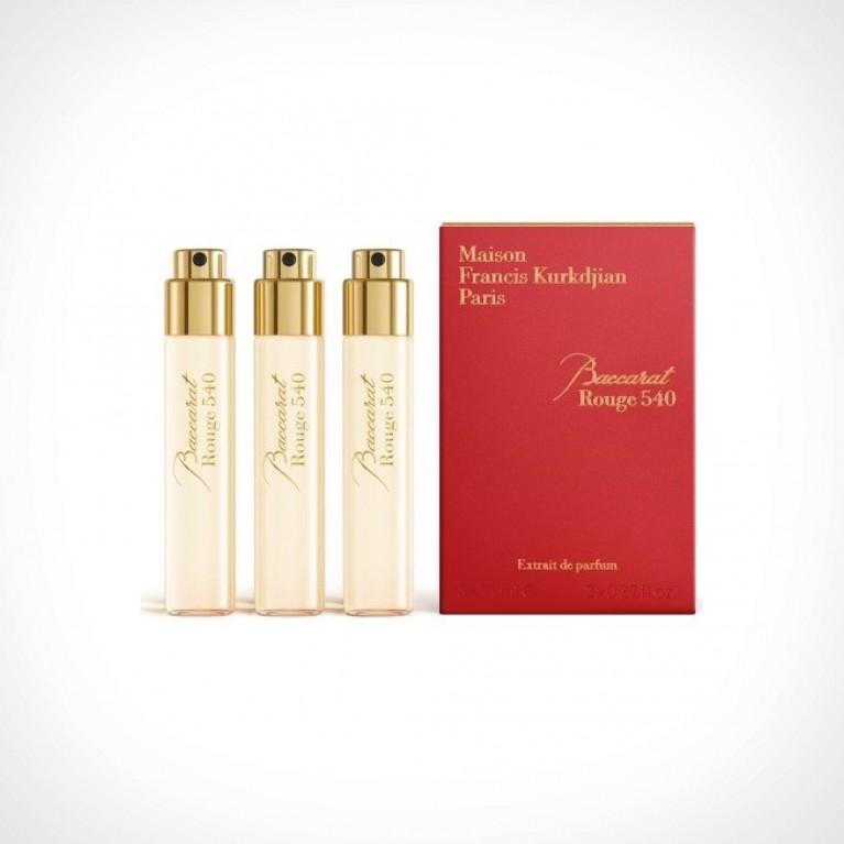Maison Francis Kurkdjian Baccarat Rouge 540 Extrait de Parfum Refills 1 | kelioninis rinkinys | Crème de la Crème