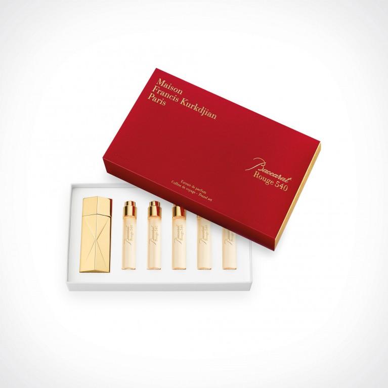 Maison Francis Kurkdjian Baccarat Rouge 540 Extrait de Parfum Refills   kelioninis rinkinys   55 ml   Crème de la Crème