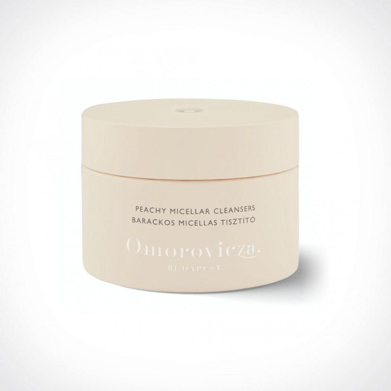 Omorovicza Peachy Micellar Cleansers | 60 discs | Crème de la Crème