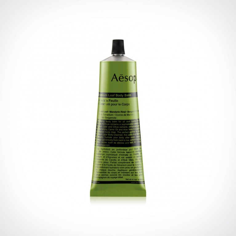 Aesop Geranium Leaf Body Balm | kūno balzamas | 120 ml | Crème de la Crème