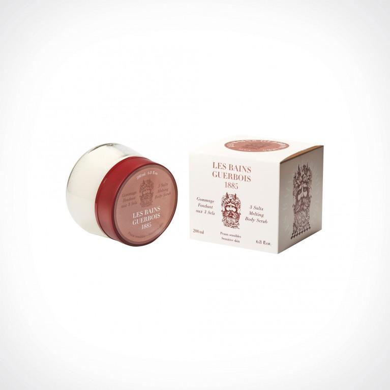 Les Bains Guerbois 3 Salts Melting Body Scrub | kūno šveitiklis | 200 ml | Crème de la Crème