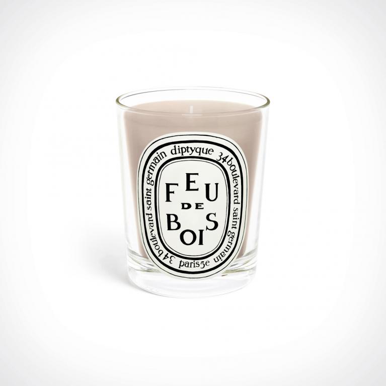 diptyque Feu De Bois Scented Candle 1   kvapioji žvakė   Crème de la Crème