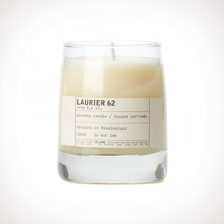 Le Labo Laurier 62 Classic Candle   kvapioji žvakė   245 g   Crème de la Crème