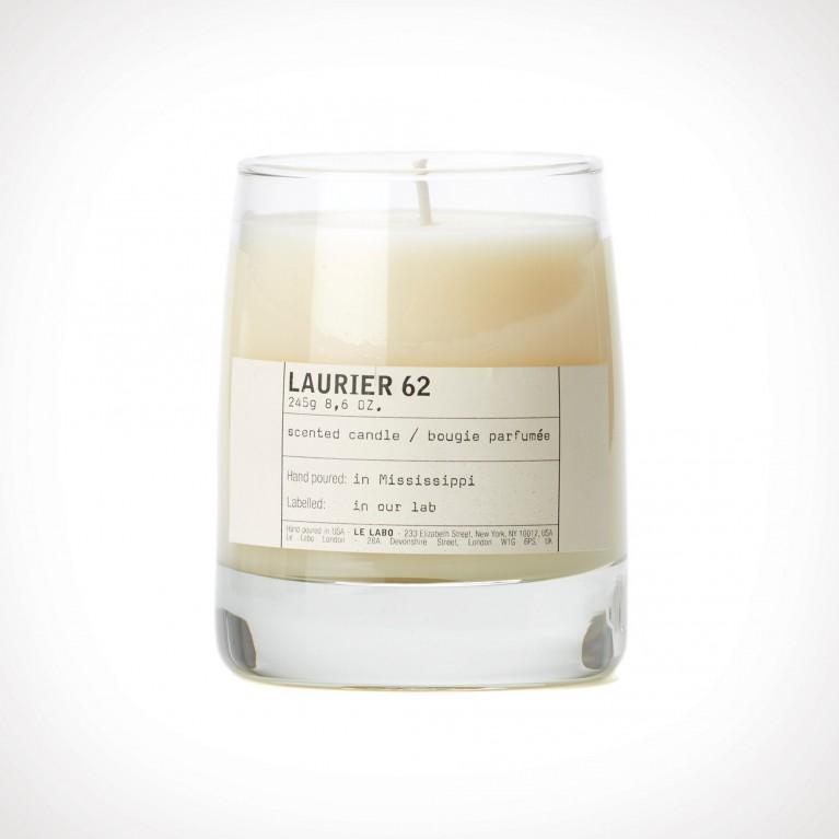 Le Labo Laurier 62 Classic Scented Candle   kvapioji žvakė   245 g   Crème de la Crème