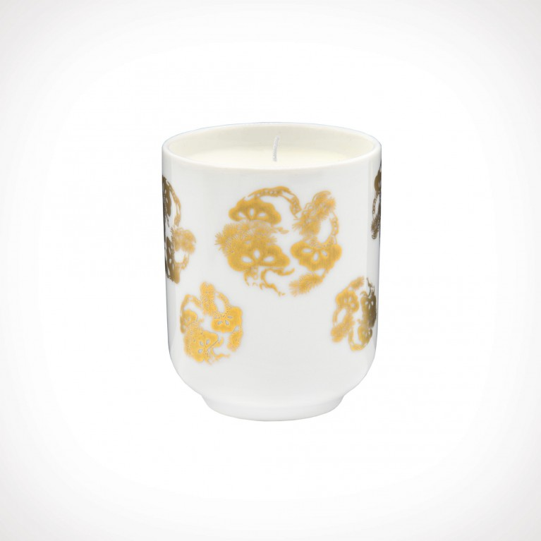 Floraïku Mimosa Candle Tea Cup 1 | kvapioji žvakė | 130 g | Crème de la Crème