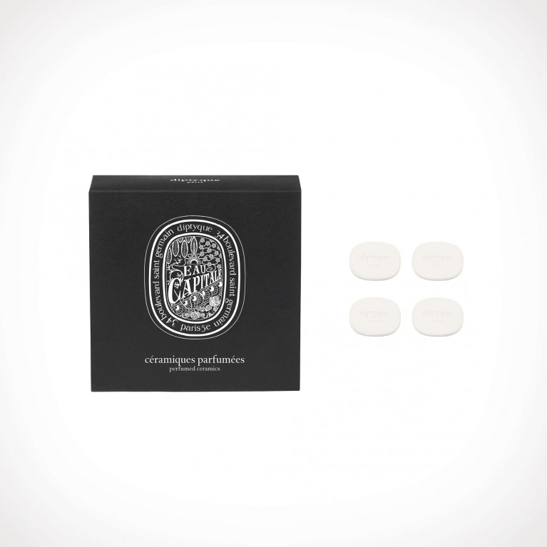 diptyque Eau Capitale Refill for Perfumed Brooch | 4 qty | Crème de la Crème