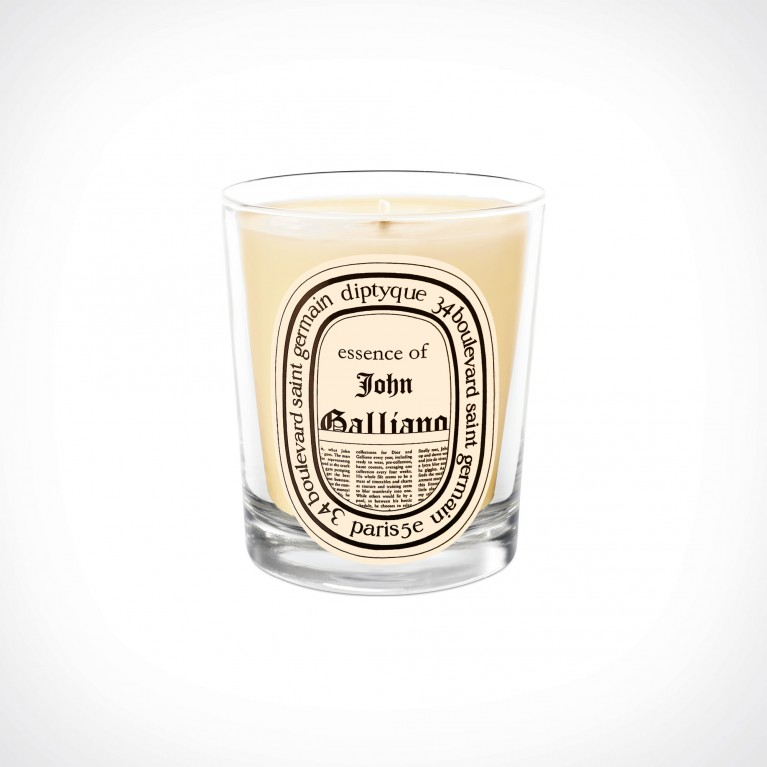 diptyque John Galliano Scented Candle 2 | kvapioji žvakė | 190 g | Crème de la Crème