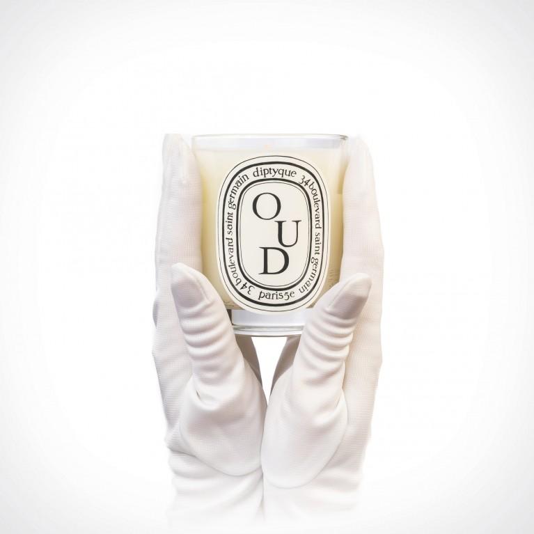 diptyque Oud Candle 2 | kvapioji žvakė | 190 g | Crème de la Crème