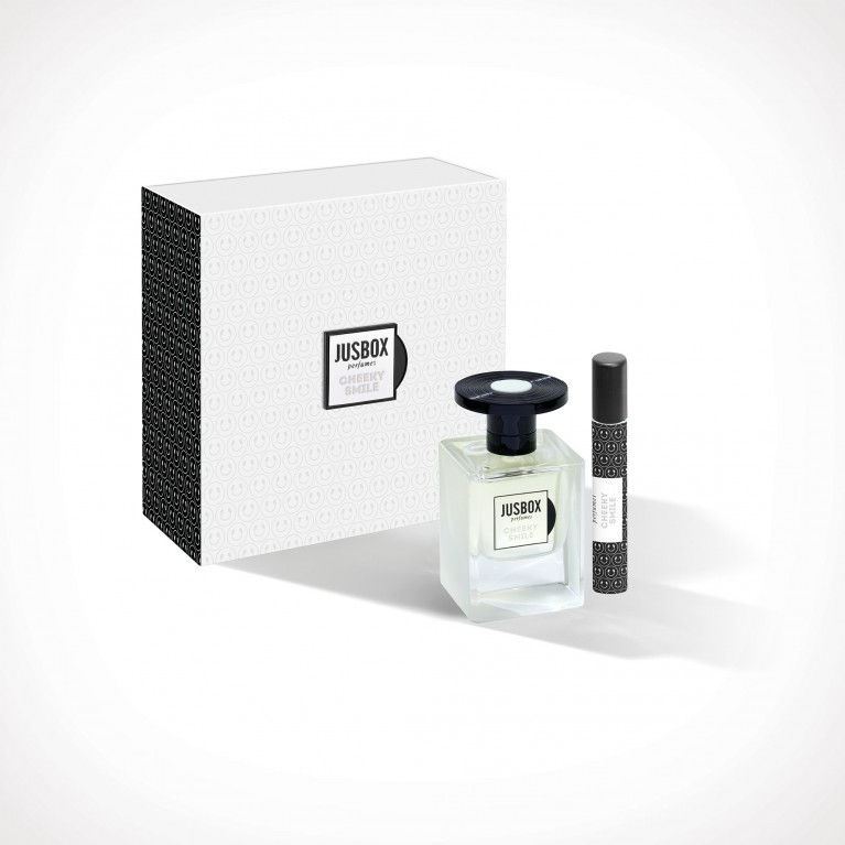 Jusbox Perfumes Cheeky Smile Set | dovanų rinkinys | 78 ml + 7,8 ml | Crème de la Crème
