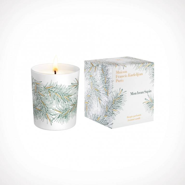 Maison Francis Kurkdjian Mon beau Sapin White Scented Candle 2 | 190 g | Crème de la Crème