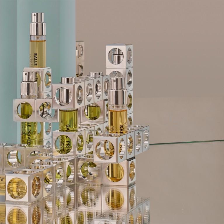 SALLE PRIVÉE Code Perfume Holder 3   kelioninis rinkinys   2 x 12 ml   Crème de la Crème