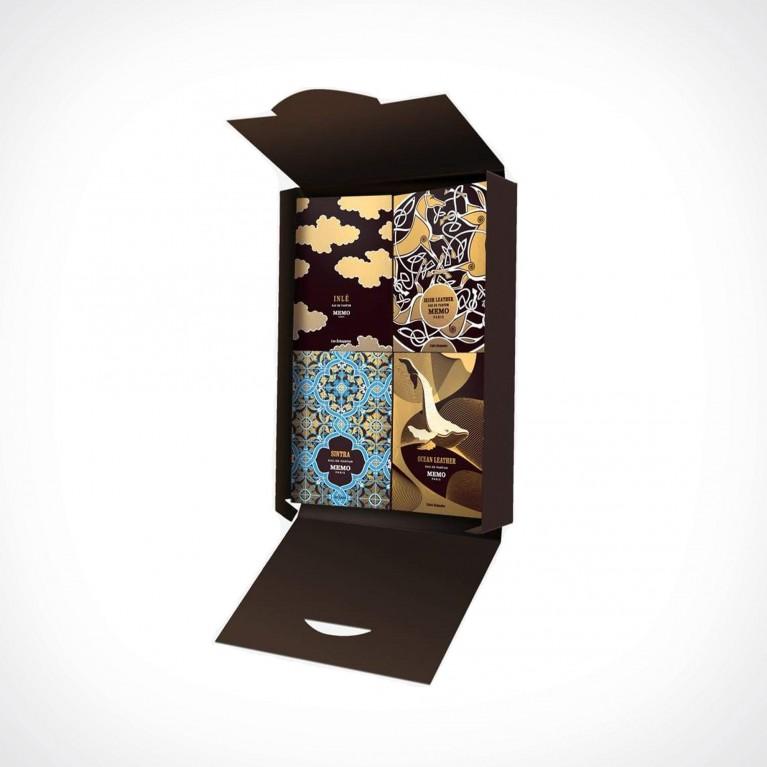 Memo Paris Journey Discovery Set No.1 | dovanų rinkinys | 4 x 1,5 ml | Crème de la Crème