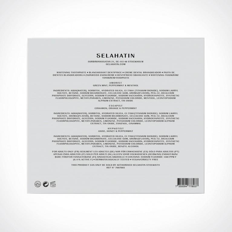 Selahatin Collection No.1 Set 3 | dantų pasta | 3 x 65 ml | Crème de la Crème