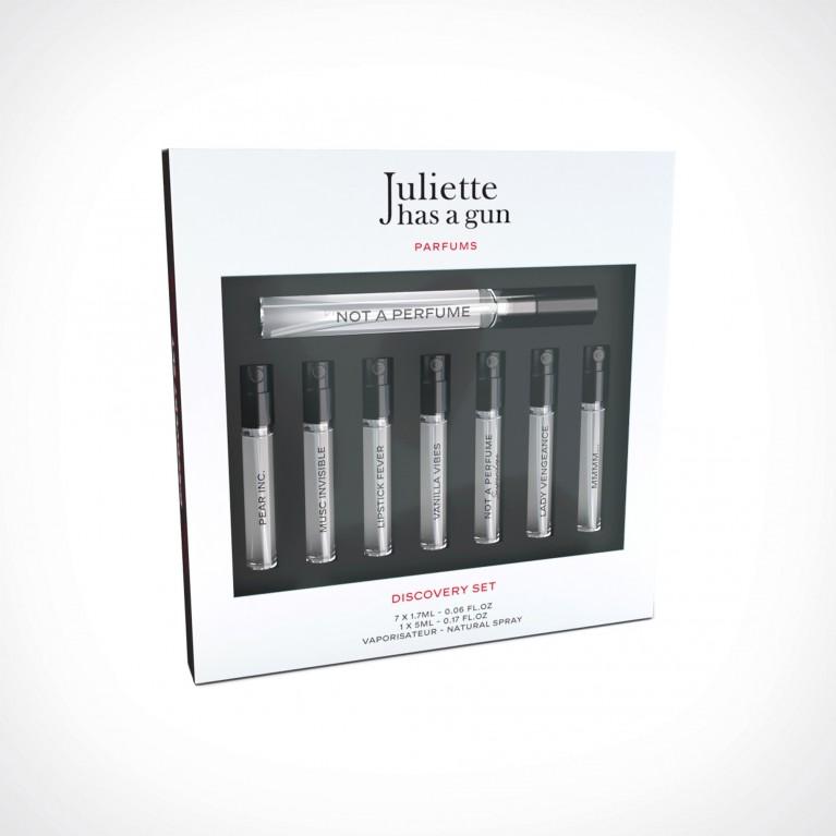Juliette has a Gun Discovery Set Superdose | dovanų rinkinys | 7 x 1,5 ml + 1 x 5 ml | Crème de la Crème