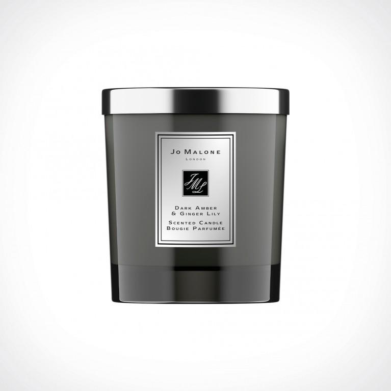 Jo Malone London Dark Amber & Ginger Lily Home Scented Candle Intense 1   kvapioji žvakė   200 g   Crème de la Crème