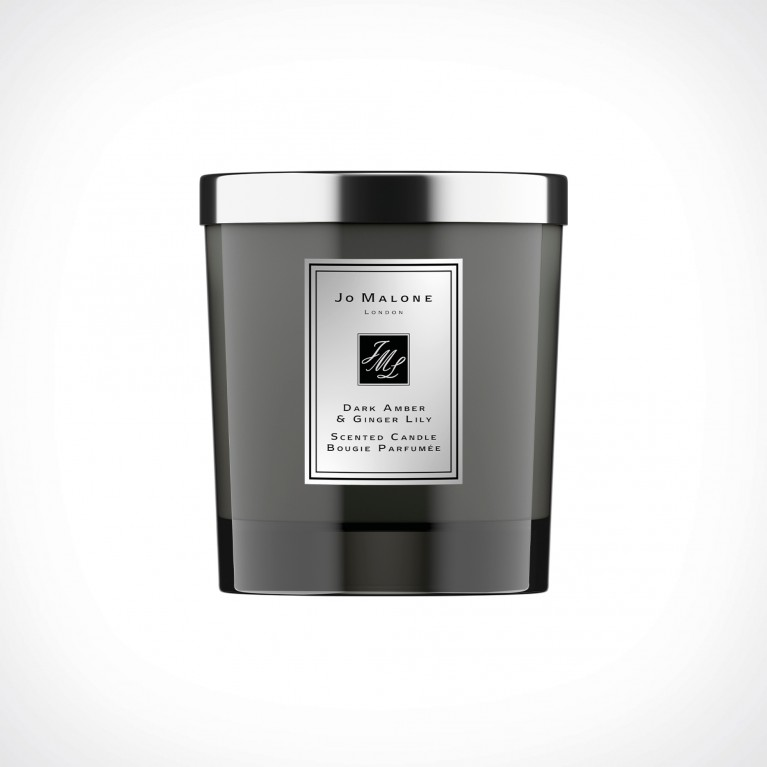Jo Malone London Dark Amber & Ginger Lily Home Scented Candle Intense   kvapioji žvakė   200 g   Crème de la Crème