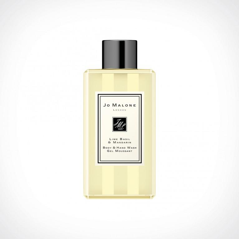 Jo Malone London Lime Basil & Mandarin Body & Hand Wash   kūno ir rankų prausiklis   100 ml   Crème de la Crème
