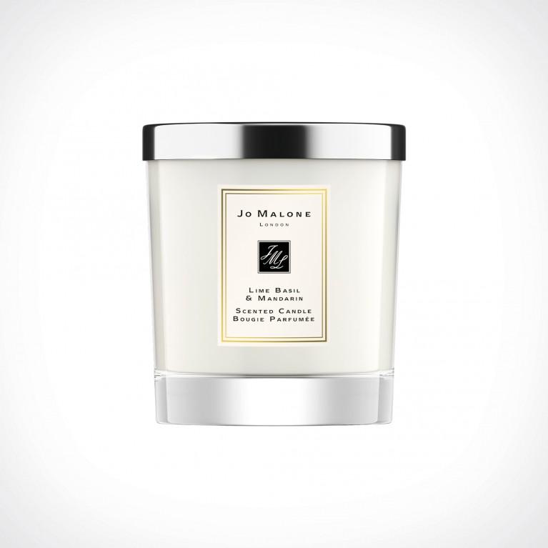 Jo Malone London Lime Basil & Mandarin Home Scented Candle   kvapioji žvakė   200 g   Crème de la Crème