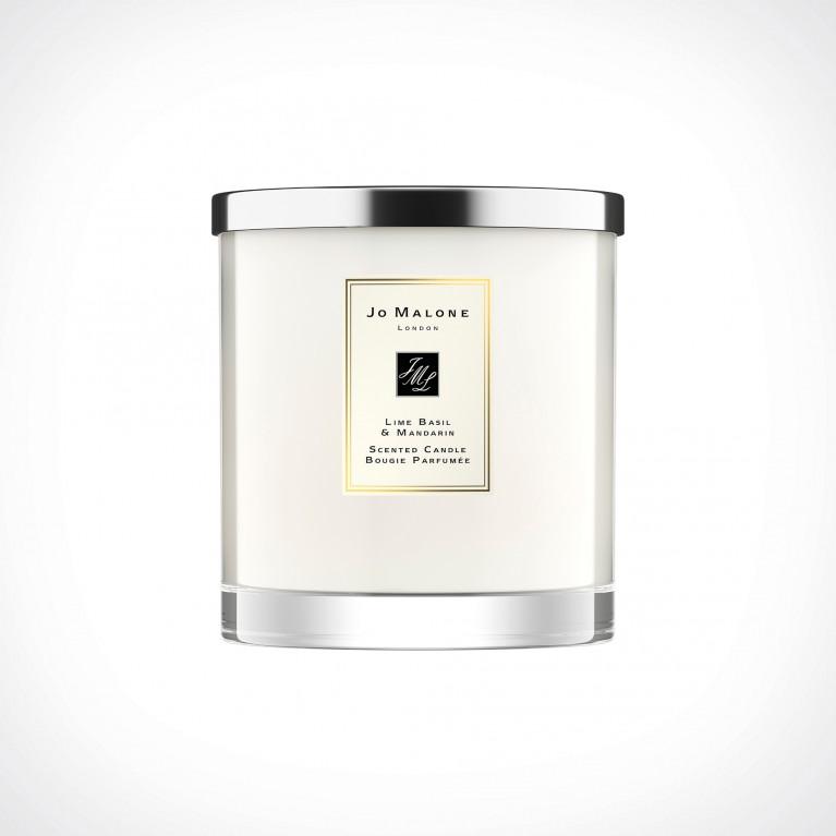 Jo Malone London Lime Basil & Mandarin Luxury Scented Candle | kvapioji žvakė | 2500 g | Crème de la Crème