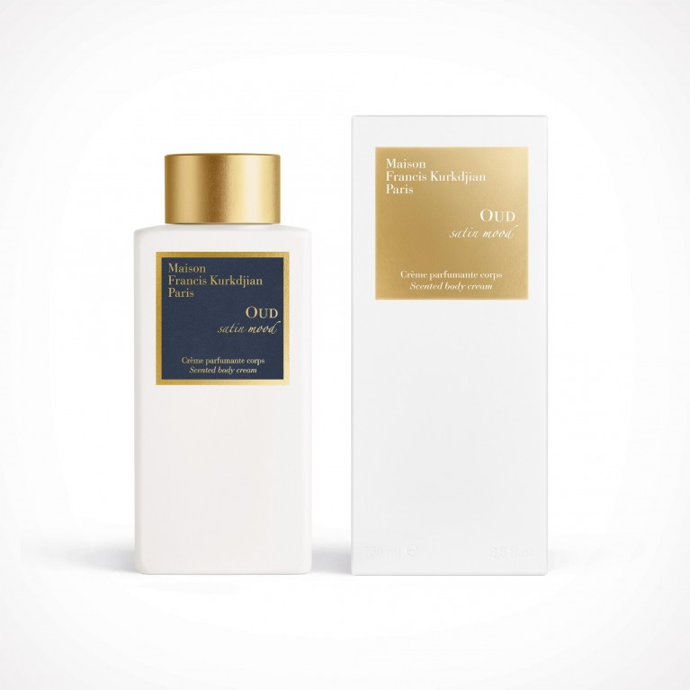 Maison Francis Kurkdjian Oud Satin Mood Scented Body Cream 2 | kūno kremas | 250 ml | Crème de la Crème